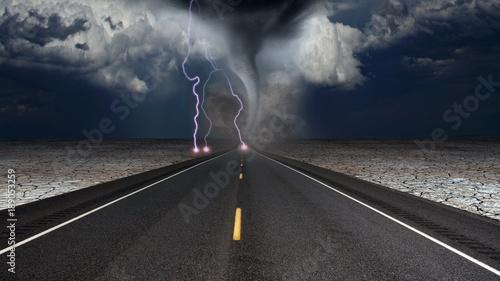 Obraz na płótnie Tornado