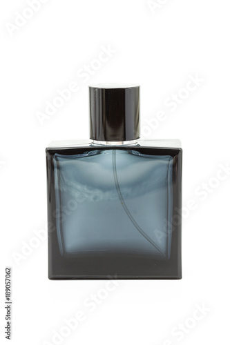 Fotografía Empty perfume or cologne bottle isolated on white