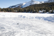Puck On A Small Rink - Pond Ho...