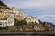Amalfi on Amalfi Coast near Naples in Italy