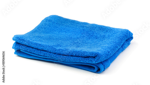 Towel isolated on white Fototapete