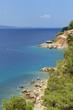 Beautiful view of the Adriatic Sea in Croatia, Southern Dalmatia