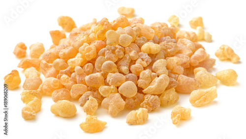 Photo  Pure Organic Frankincense Resin isolated on white