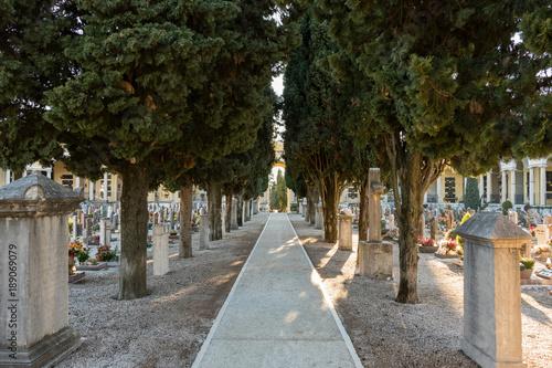 Foto op Canvas Begraafplaats Cimitero Rovereto