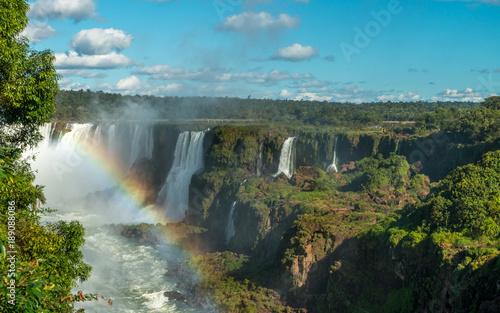 Küchenrückwand aus Glas mit Foto Wasserfalle Iguazu Falls, Brazil