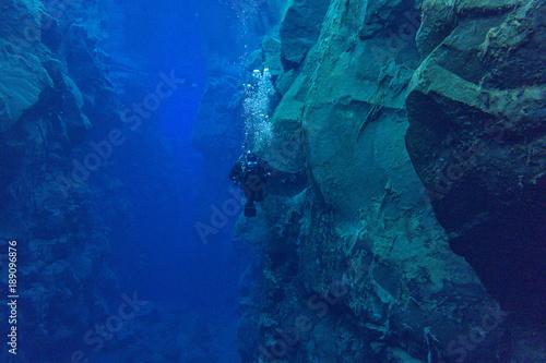 Fotografie, Obraz  Deep clear Blue