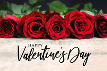 Happy Valentine's Day Typograp...