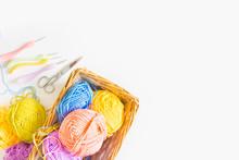 Colorful Round Yarn Mat. Croch...