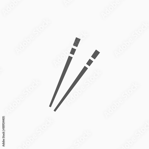 chopsticks icon Wallpaper Mural