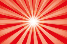 Red Shiny Starburst Background...