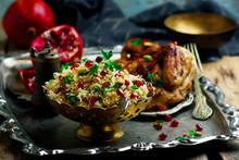 Persian Honey Glazed Chicken A...