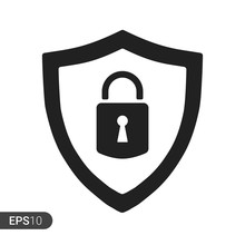 Abstract Security Vector Icon ...