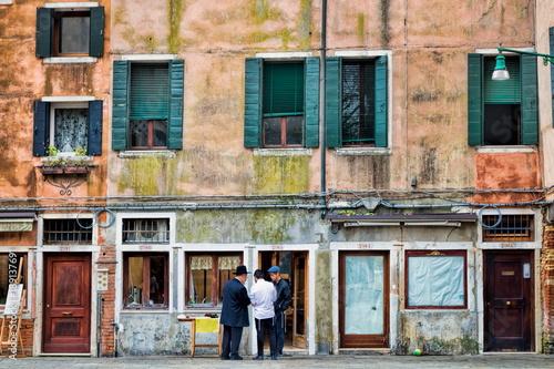 Venedig, Jüdisches Viertel Canvas Print