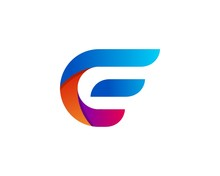 Letter E Wing Logo Icon Vector