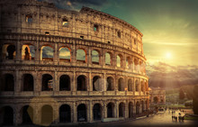 Rome, Italy.One Of The Most Popular Travel  Place In World - Rom
