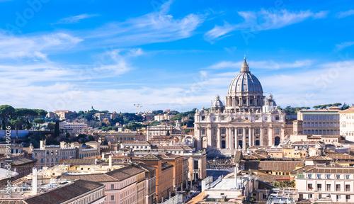 Fotografie, Obraz  ローマ 世界遺産 サン・ピエトロ大聖堂