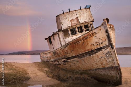 Foto op Canvas Schipbreuk Point Reyes Shipwreck