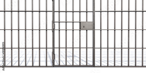 Prison Bars Fototapeta