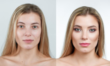 Comparison Photo Of A Beautifu...