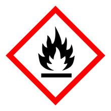 Flammable Hazard Icon