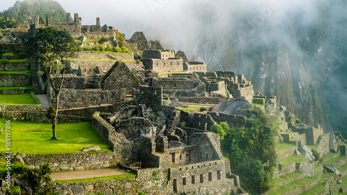 Photo  Inca Village in the mountains