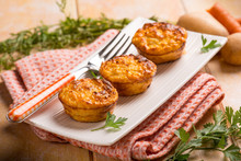 Carrot And Potatoes Muffins, S...