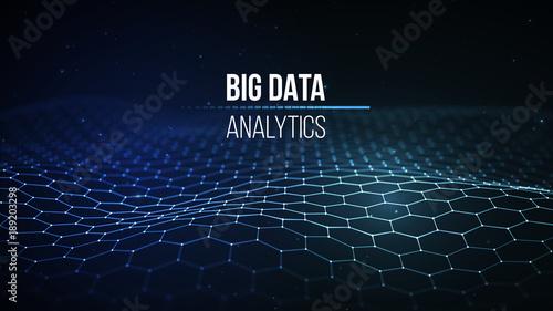 Fotografie, Obraz  Big data visualization