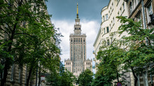 Warsaw City Building Landscape