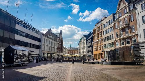 fototapeta na ścianę Aarhus City Center