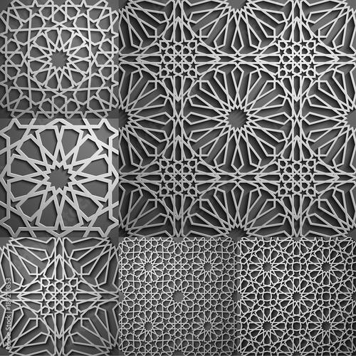 Islamic pattern   Seamless arabic geometric pattern, east ornament