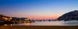 Leinwandbild Motiv Bucht von Andratx am Abend, Mallorca