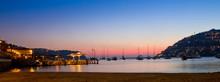 Bucht Von Andratx Am Abend, Mallorca