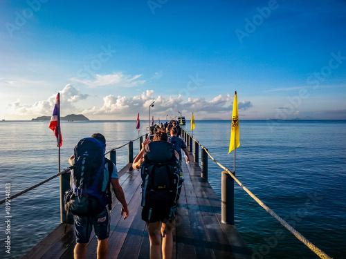 Chumphon Ferry to Koh Samui Slika na platnu