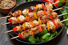 Homemade Grilled Chicken Kebab