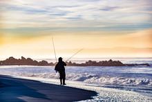 Fishing At Coronado Beach