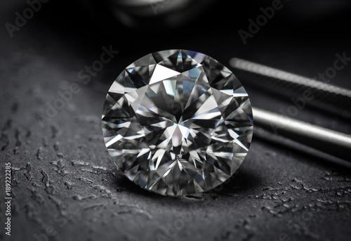 Valokuva  Large luxury diamond