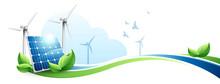 Ecologie Panneaux Solaires Eol...