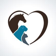 Veterinarian Heart Animal Love...