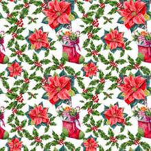 Seamless Christmas Texture (pa...
