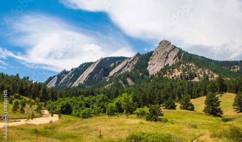 The Flatirons, Boulder, Colorado
