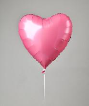 Single Big Red Heart Balloon O...