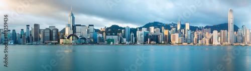 Fotografía Hong Kong skyline in the morning over Victoria Harbour, Hong Kong China