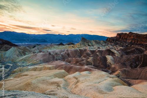 Garden Poster Salmon Death Valley le matin