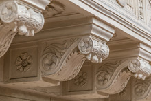 Architectural Details Of Balco...