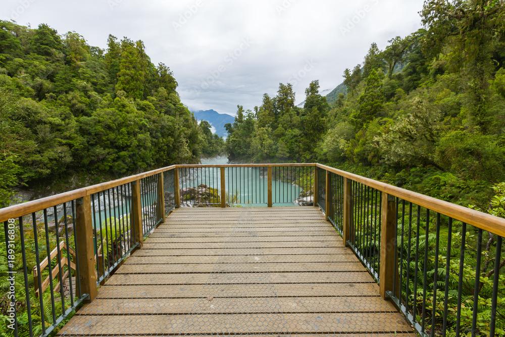 Zobacz punkt w Hokitika Gorge, Nowa Zelandia