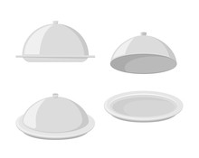 Set Of Trays For Hot Dishes