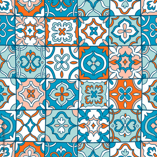 La pose en embrasure Tuiles Marocaines Spanish tiles pattern