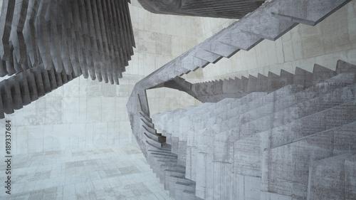 abstrakcjonistyczny-bialy-i-betonowy-wnetrze-z-okno-3d-ilustracja-i-rendering