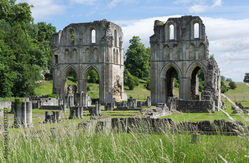 The Ruins of Roche Abbey, Maltby, Rotherham, England Canvas Print