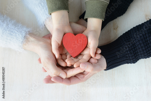 Obraz na plátne  家族の絆イメージ